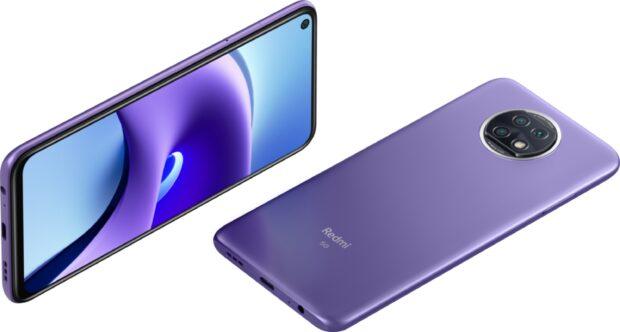 Xiaomi Redmi Note 9T púrpura visión general